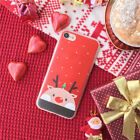 Christmas Slim Soft Plastic Phone Case Cover For iPhone 6 6S 7 Plus Protective