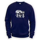4x4 XJ Sweater -x8 Colours- Gift Present Off Road Green Lane American Tow