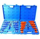 12 PIECE SCREWDRIVER PORTABLE SET KIT BOX HEX BOLSTERS