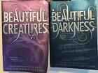 Lot 2 Books Beautiful Creatures & Beautiful Darkness Kami Garcia Margaret Stohl