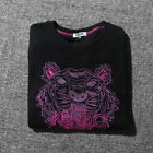 Hot MEN WOMEN EMBROIDERE KENZO PARIS TIGER LOGO SWEATER Size S-XXL