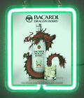 Bacardi Dragon Berry Strawberry Rums New Neon Light Sign
