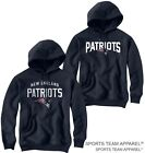 NEW ENGLAND PATRIOTS JERSEY NAVY BLUE HOODIE SWEATSHIRT on eBay