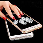Luxury Diamond Ultra-thin Soft Silicone TPU Case Cover For iPhone X 7 8 Plus