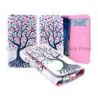 For ZTE Tough Max 2 Wallet Bag Flip Case Cover Wings Tower Insect Leopard Smile