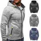 Men's Casual Winter Slim Hoodie Hooded Sweatshirt Coat Jacket Outwear Sweater