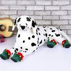 Hot Pet Shoes Animals Xmas Warm Boots Doggy Colorful Holiday Fancy Dress Nonslip