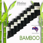 Mens Bamboo Dress Socks - Men's Bamboo Fibre Black Business Socks