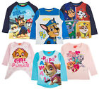 Paw Patrol Kids Long Sleeve Top Character Chase Skye T Shirt Kids Tee Shirt