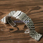 Hot Stainless Steel Strap Straight Metal Bracelet Wrist Watch Band 18/20/22/24mm