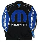 Authentic Dodge Mopar Racing Embroidered Cotton Jacket JH Design Black New