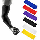 Sports Armlet Basketball Bike Compression Arm Long Sleeve Guard Protector Cotton
