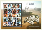 Star Wars Stamps, Sheets, Booklets, FDC's, FDCC's 2015 & 2017 £41.99 GBP