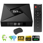 TX9 Pro 4K HD TV Box Amlogic S912 Octa-core 16G 32G Android 7.1 1000M LAN WIFI