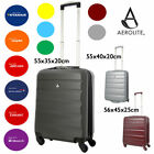 Aerolite Lightweight ABS Hard Shell 4 Wheels/2 Wheel Spinner Hand Cabin Luggage