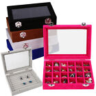 Velvet Case Ring Earring Necklace Trinket Organizer Display Jewelry Storage Box