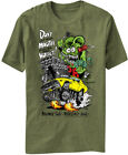Rat Fink Money Talks Wallet Ed Roth Kustom Kulture Adult Mens T Tee Shirt BD208