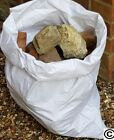 20 / 100 WHITE WOVEN HEAVY DUTY RUBBLE SACKS/BAGS BUILDERS BAGS ** BULK SAVERS**