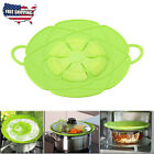 Bloom Multi-Purpose Lid Silicone Cover and Spill Stopper Pan and Pot Cook Tool