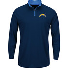 San Diego Chargers NFL Quarter-Zip Shirt Men's size Large X-Large or 2XL NWT