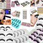 Makeup Handmade Natural Thick False Eyelashes Long Eye Lashes Extension