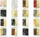 plain color pu faux leather fabric for home decor upholstery,pleather