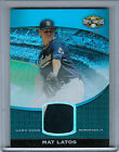 2011 Topps Triple Theads Unity Sapphire MAT LATOS Jersey Patch #3/3 #151  (4881)
