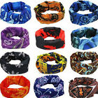 New Multi-Purpose Bandana Tube Camo Head Face Mask Neck Warmer Dust Shield Snood