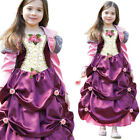 Kids Duchess Costume Fancy Dress Pink Princess Ball Gown Age 3-11 Years Amscan