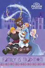 Frozen - Family is tradition Group - Poster Plakat Druck - Größe 61x91,5 cm