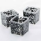 Richland Votive Candle Holder Square Lace Set of 72 Wedding Event Home Tealight