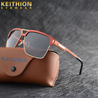 Fashion Design Square Polarized Sunglasse Mens Driving Sports Outdoor Eyewear
