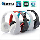 Folding Headset Wireless Bluetooth Stereo Headphones Earphone for iPhone Samsung