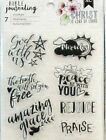BIBLE JOURNALING themed stamp sets~SO USEFUL!!~Really nice!  Quick Ship!!