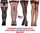 Lace Topped Thigh High Hot Sexy Ultrathin Sheer Fishnet Stoc