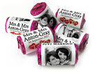 Personalised Mini Love Heart Sweets for Weddings favours, Your Image - Mrs & Mrs