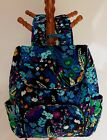 ERA BRADLEY DOUBLE ZIP BACKPACK MIDNIGHT BLUES RETIRED EXCELLENT CONDITION