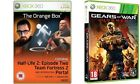 the Orange Box  USED     &     gears of war judgment  NEW&SEALED  XBOX 306  pal