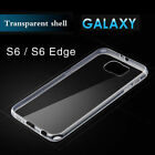 Soft Crystal Slim Gel TPU Clear Case Cover For Sumsung S6 S7 S8 S9 Plus Note8
