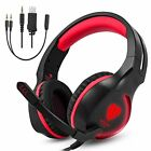 OBEST Gaming Headset SL-100 3.5mm high sound collector microphone LED light with