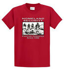 Native American Security Printed Tees Reg - Big and Tall Size cotton Port & Co