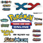 Pokemon Codes Online TCGO Booster TCG Codes - Email Delivery - XY / Sun & Moon