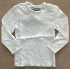 IKKS Infant Grils Long Sleeve T-Shirt Top Cream 12 months NWT $26