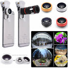 micro lens iphone - 10X Zoom Telephoto Fish Eye+Wide Angle+Micro Clip-On Camera Lens For iPhone678