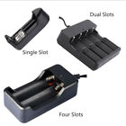 Flexible 4 slots Li-ion Battery Universal Charger for 18650 17670 14500 Battery