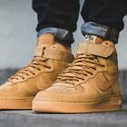 Nike Air Force One High '07 Flax Wheat Gum Us Mens Sizes 882096-200