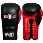 Внешний вид - Ringside IMF Tech Sparring Boxing Gloves - Black/Red