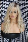 100% Brazilian Virgin Human Hair Ombre Blonde Lace Front Wig Full Lace Wigs