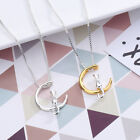 925 Silver Cat Moon Necklaces Pendants For Women Gold Boho Maxi Charm Jewellery