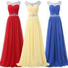 CHEAP! Chiffon Evening Formal Christmas Gown Cocktail Prom Bridesmaid Maxi Dress